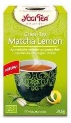 YOGI TEA Ceai bio verde matcha cu lamaie Yogi Tea