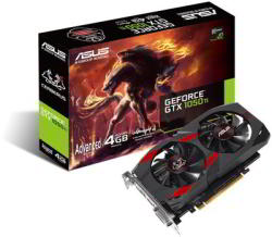 ASUS GeForce GTX 1050 Ti 4GB GDDR5 128bit PCIe (CERBERUS-GTX1050TI-A4G)