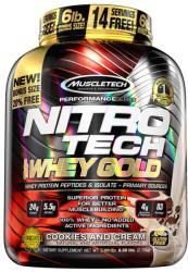 MuscleTech Nitro-Tech 100% Whey Gold - 2508g
