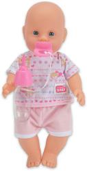 Simba Toys New Born Baby pisilős baba rózsaszín ruhában