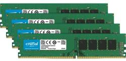 Crucial 64GB (4x16GB) DDR4 2666MHz CT4K16G4DFD8266