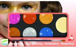 Djeco Culori make-up non alergice Djeco, metalic (DJ09232)