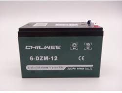 Chilwee Dzm Gel Acumulator 6-DZM-12 bicicleta electrica CHILWEE DZM 12V 12Ah