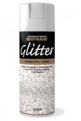 Rust-Oleum Lac cu Particule Sclipici Silver 400ml