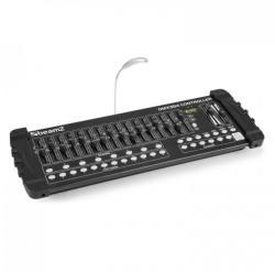 Beamz DMX384, Controller DMX, consolă de iluminat, 384 CANALE, MIDI, USB (154.048)