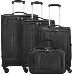 Travelite Crosslite 4 kerekes 4 részes bőrönd szett (89540)