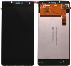 Blu NBA001LCD458 Gyári eredeti BLU R1 HD fekete LCD kijelző érintővel
