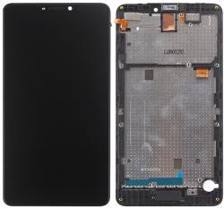 Blu NBA001LCD459 Gyári eredeti BLU R1 Plus R0050UU R0070UU fekete LCD kijelző érintővel