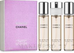 CHANEL Chance (Refills) EDT 3x20ml
