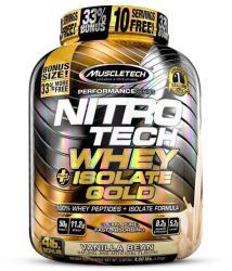 MuscleTech Nitro Tech Whey Isolate Gold - 1800g