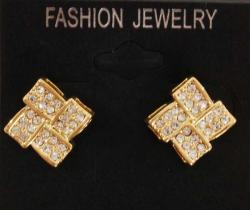 Specials Special Fashion Earrings 2Step Gold