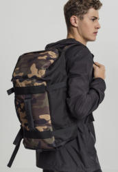 Urban Classics Traveller Backpack black/camo
