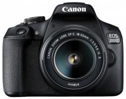 Canon EOS 2000D + EF-S 18-55mm IS II (2728C028AA) Digitális fényképezőgép