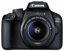 Canon EOS 4000D + EF-S 18-55mm III Digitális fényképezőgép