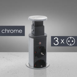 Delight 3 Plug + 2 USB 1,5m (20430C)
