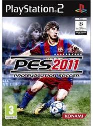 Konami PES 2011 Pro Evolution Soccer (PS2)