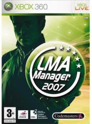 Codemasters LMA Manager 2007 (XBox 360)
