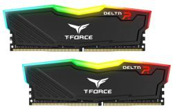 Team Group Delta RGB Black 16GB (2x8GB) DDR4 3000MHz TF3D416G3000HC16CDC01