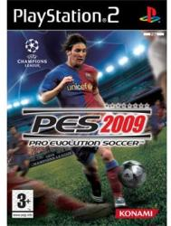 Konami PES 2009 Pro Evolution Soccer (PS2)