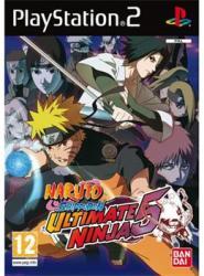 BANDAI NAMCO Entertainment Naruto Shippuden Ultimate Ninja 5 (PS2) Játékprogram