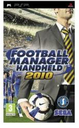 SEGA Football Manager Handheld 2010 (PSP)