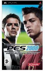 Konami PES 2008 Pro Evolution Soccer (PSP)