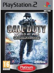 Activision Call of Duty World at War Final Fronts (PS2)