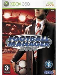 SEGA Football Manager 2008 (Xbox 360)