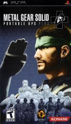 Konami Metal Gear Solid Portable Ops Plus (PSP)