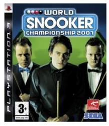 SEGA World Snooker Championship 2007 (PS3)