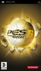 Konami PES 6 Pro Evolution Soccer (PSP)