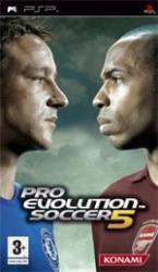 Konami PES 5 Pro Evolution Soccer (PSP)