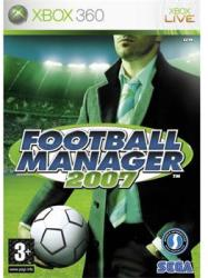 SEGA Football Manager 2007 (Xbox 360)