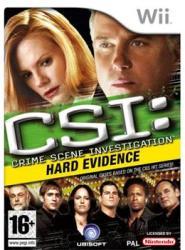 Ubisoft CSI: Crime Scene Investigation Hard Evidence (Wii)