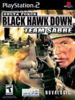 Novalogic Delta Force Black Hawk Down Team Sabre (PS2)
