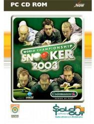 Codemasters World Championship Snooker 2003 (PC)