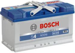 Bosch S4 12V 80Ah 740A Jobb+ Alacsony (0092S40100)