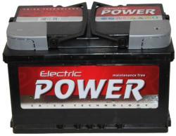 Electric Power 72Ah 640A Jobb+