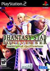 SEGA Phantasy Star Universe Ambition of the Illuminus (PS2)