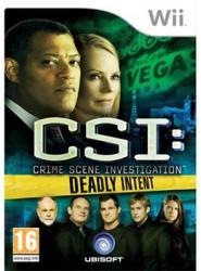 Ubisoft CSI: Crime Scene Investigation Deadly Intent (Wii)