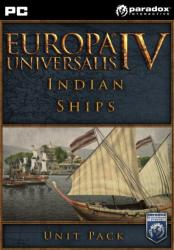 Paradox Interactive Europa Universalis IV Indian Ships Unit Pack DLC (PC)