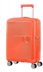 American Tourister Soundbox - bővíthető, négykerekű kabinbőrönd 55 (32G**001)