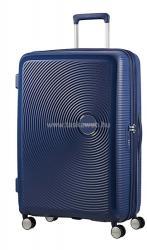 American Tourister Soundbox - bővíthető, négykerekű nagy bőrönd 77 (32G**003)