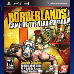 2K Games Borderlands [Game of the Year Edition] (PS3)