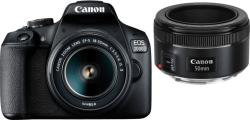 Canon EOS 2000D + 18-55mm IS II + 50mm STM (2728C0)