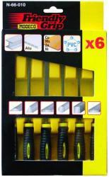 Modeco Tűreszelő készlet 6db Modeco 66010 (MO66010)
