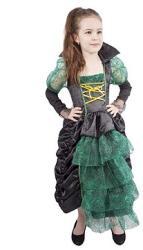 Rappa Zöld boszorkány kalappal - S méret