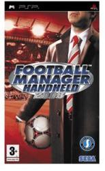SEGA Football Manager Handheld 2008 (PSP)