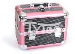 TyToo Kicsi kozmetikai bőrönd Rózsaszín-fekete