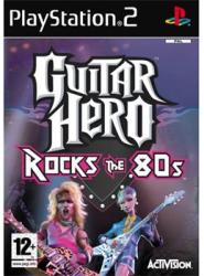 Activision Guitar Hero Rocks the 80s (PS2)